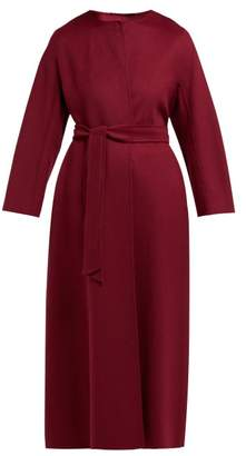 Max Mara Beirut Coat - Womens - Burgundy