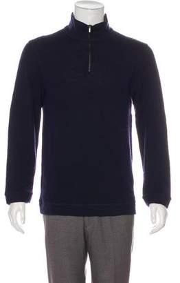 Giorgio Armani Wool Zip Sweater
