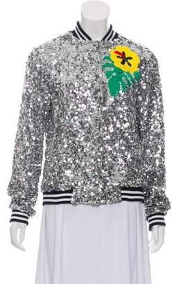 Mira Mikati Embellished Silk Jacket w/ Tags