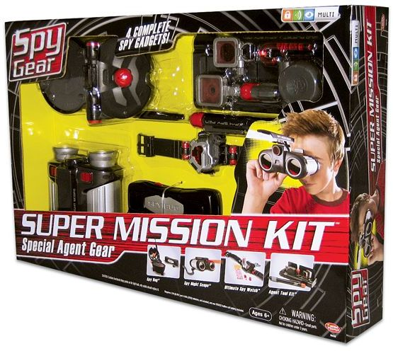 Wild Planet™ Spy Gear™ Super Mission Kit™