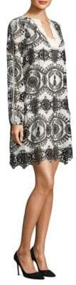 Escada Sport Dapinas Embroidered Eyelet Dress