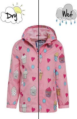 Holly & Beau Cupcake Color-Changing Raincoat