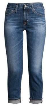 AG Jeans Slim-Fit Ex-Boyfriend Light Wash Jeans