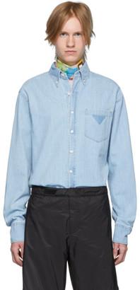 Prada Blue Denim Shirt