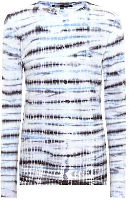 Proenza Schouler Tie-dye cotton top