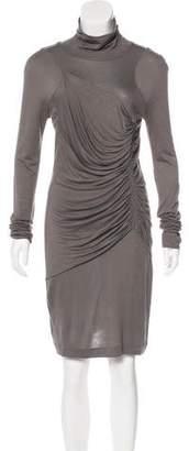 Barbara Bui Bui by Gathered Knit Dress