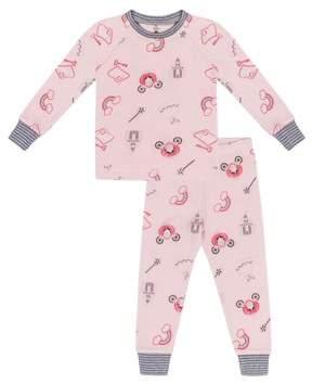 Petit Lem Girls' Fairy Tale 2 Piece Pajama Sleep Set (Little Girl & Big Girl)