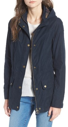 Women's Barbour Ranunculus Casual Hooded Jacket $249 thestylecure.com