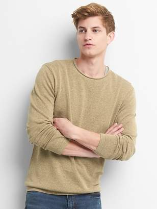Gap Pullover Crewneck Sweater in Linen