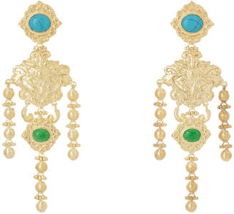 Angelique Turquoise Earrings