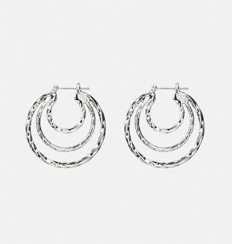 Avenue Twisted Layer Hoop Earrings