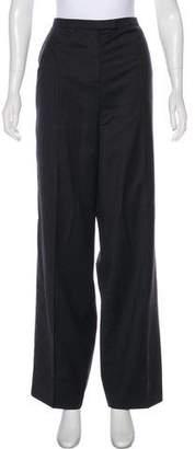 Ralph Rucci Wool High-Rise Pants