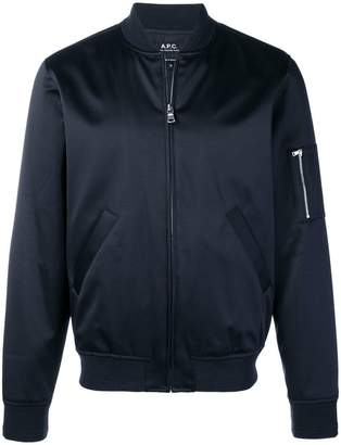 A.P.C. zipped-front bomber jacket