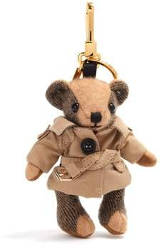 Burberry - Thomas Bear Trench Coat Cashmere Keyring - Womens - Brown