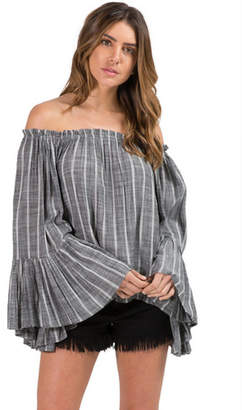 Elan International Off The Shoulder Top