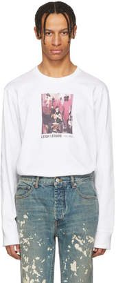Helmut Lang White Leigh Ledare Edition Dream 2008 T-Shirt