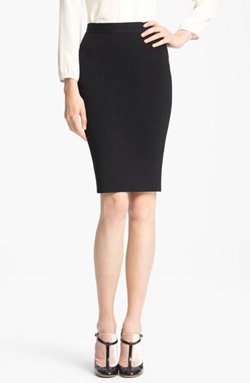 Valentino Slim Tubino Skirt