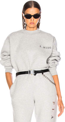 Alexander Wang Chrome Decal Sweatshirt