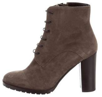 Barneys New York Barney's New York Suede Lace-Up Ankle Boots