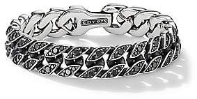 David Yurman Men's Chain Collection Sterling Silver Curb Chain Bracelet