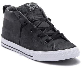 Converse Chuck Taylor(R) All Star(R) Street Mid Top Sneaker (Baby, Walker, Toddler, Little Kid & Big Kid) (Regular Retail Price: $45.00)
