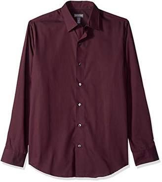 Van Heusen Men's Stripe Sateen Long Sleeve Button Down Shirt