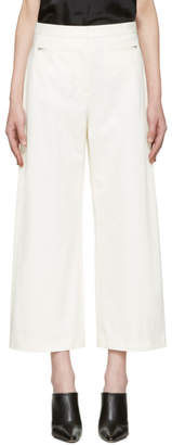 Alexander Wang White High-Waisted Culottes