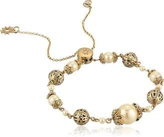 Marchesa Women's Gold/ Slider Bracelet