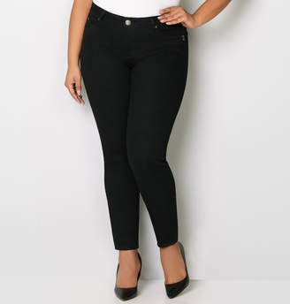 Avenue Body Sculpting Skinny Jean in Black