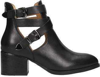 The Seller Cut Out Ankle Boots