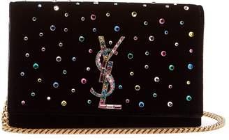 Kate small crystal-embellished cross-body bag
