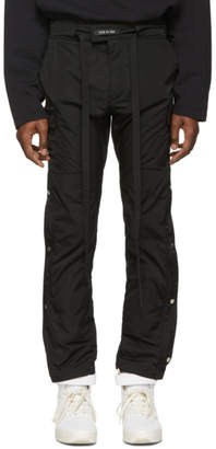 Fear Of God Black Nylon Cargo Pants