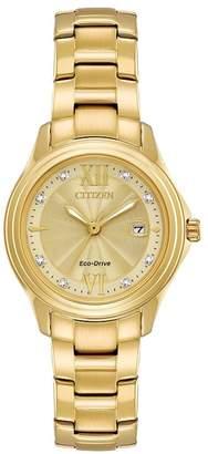 Citizen Ladies' Gold Plated Bracelet Watch