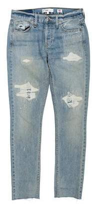 RE/DONE Mid-Rise Skinny Jeans