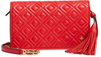 Tory Burch Fleming Leather Wallet/Crossbody