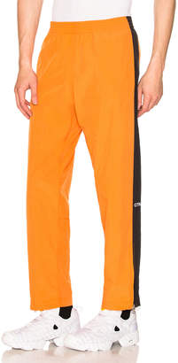 "Heron Preston ""Style"" Side Stripe Loose Pants"