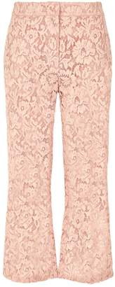 Valentino Lace Kick Flare Trousers