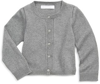 Infant Girl's Burberry 'Rheta' Cardigan $120 thestylecure.com