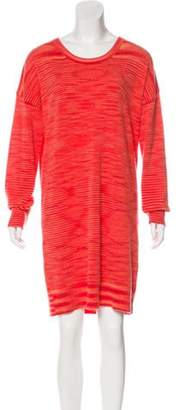 Michael Kors Cashmere Sweater Dress coral Cashmere Sweater Dress