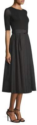 Max Mara Calmi Belted A-Line Dress