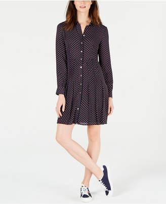 Tommy Hilfiger Star-Print Shirt Dress