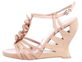 Donald J Pliner Cage Wedge Sandals