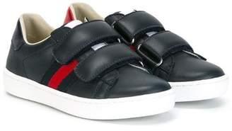 Gucci Kids Web detail sneakers