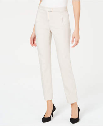 Alfani Tummy-Control Slim-Leg Pants