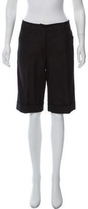 Dolce & Gabbana Tweed Knee-Length Short