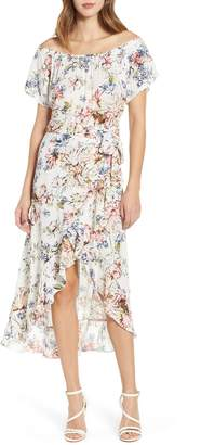 O'Neill Connie Off the Shoulder Midi Dress