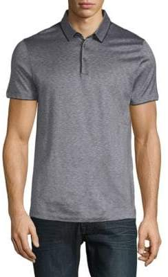 HUGO BOSS Preston Cotton and Silk Polo