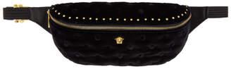Versace Black Velvet Pouch