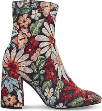 Kurt Geiger Rilly floral heeled ankle boots