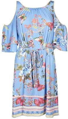 Hale Bob Floral Jersey Dress